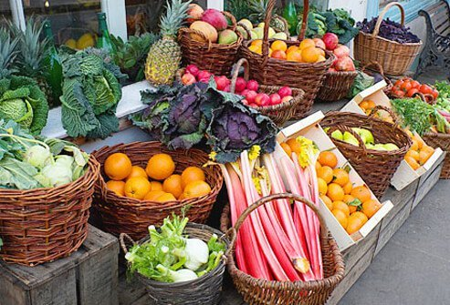 When it comes to fruits and vegetables, pick up the pace!