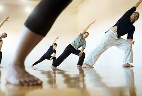 Studies show yoga can help lower pain, increase function, improve mood, and reduce the need for medications.