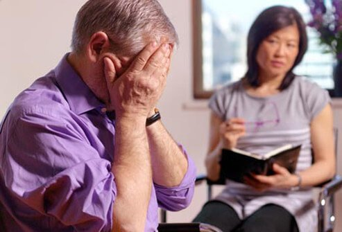 Talk therapy can help you cope better and work through pain you are experiencing.