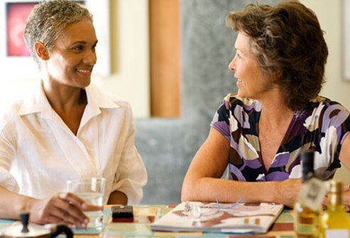 Social support can make dealing with a chronic condition easier.