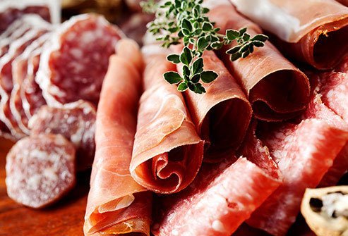 Animal protein in the form of processed meat increases the risk of colon and stomach cancer.