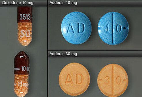Dexedrine and Adderall