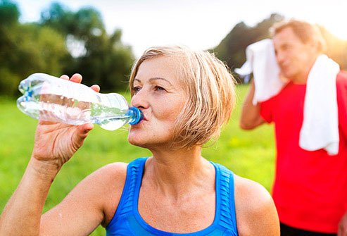 Dehydration is a risk factor for muscle cramps.