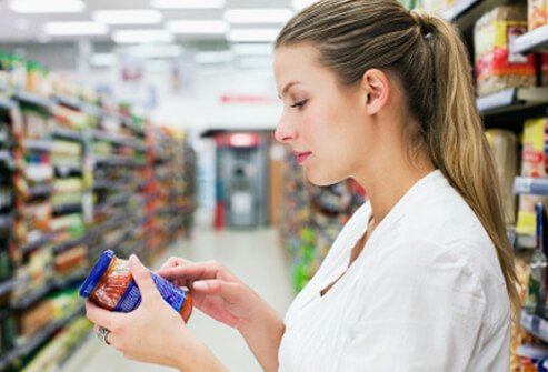 People with food allergies must thoroughly examine food labels.