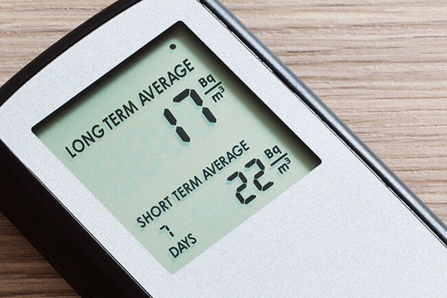 About 1 in 15 houses has high levels of radon gas.