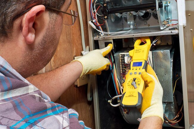 A certified technician should check your gas furnace unit every year