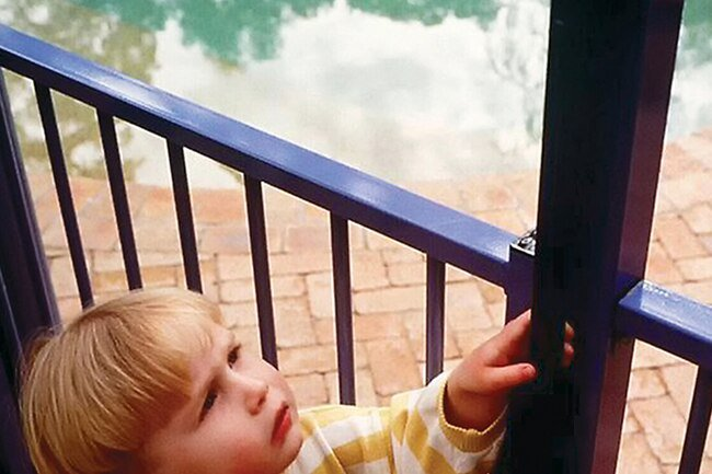 Make sure to have a fence and gates around your pool to avoid drowning hazards.