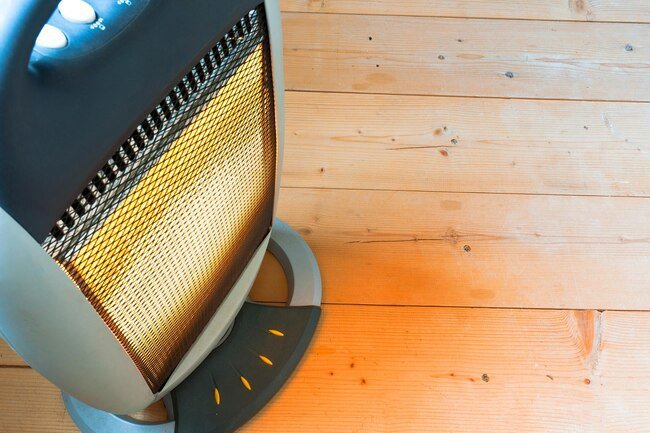 Space heaters are known fire hazards. Choose a newer model if more safety features.