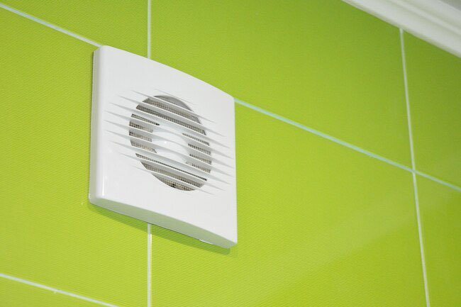 Turn on the bathroom fan or ventilation every time you take a bath or shower.