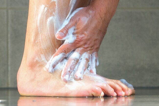 Bathing in Epsom salts is not advised with DPN because it may dry out your skin and lead to cracking and irritation.