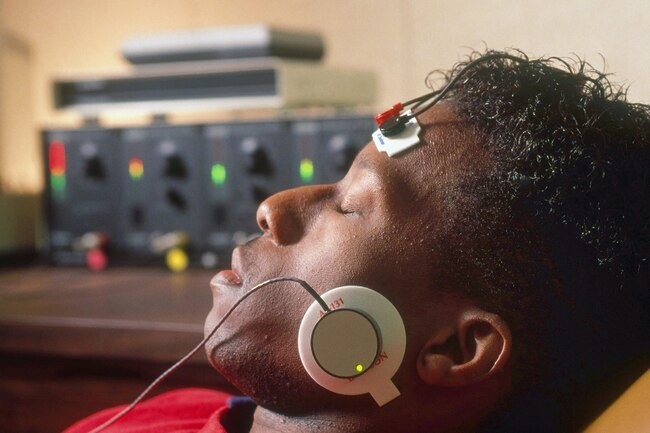 Biofeedback teaches you how to lower your heart rate and blood pressure and reduce stress.