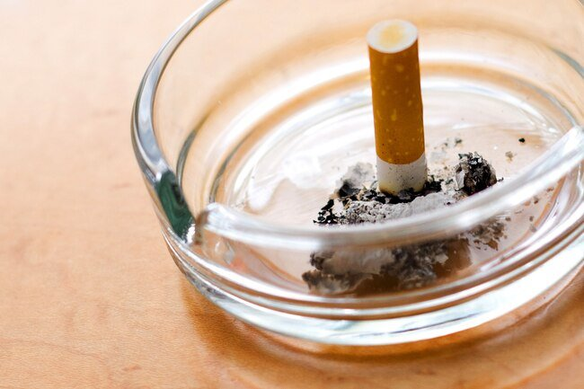 Smoking lowers oxygen levels and creates free radicals, both of which are bad for your nerves.