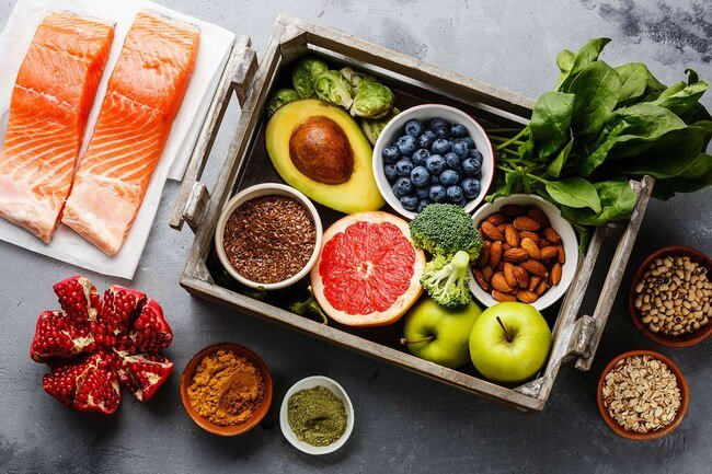 A healthy diet is best for your weight, blood sugar levels, and nerves.
