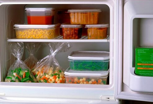 Stock up your kitchen with healthy snacks and ingredients in advance.