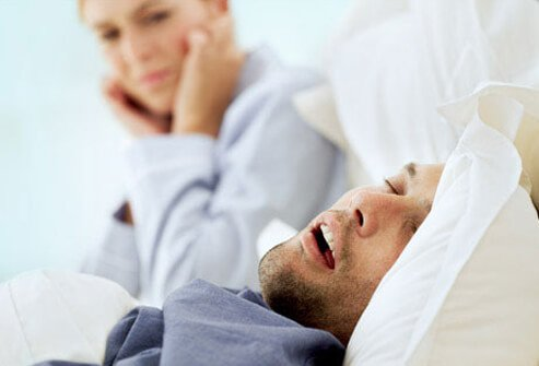 Snoring affects about 44 percent of men, making it more common in men than in women.