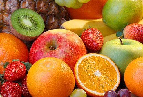 A variety of fresh fruits.