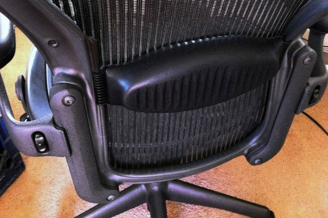 A good chair is very important for office ergonomics.