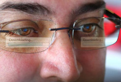 Photo of computer glasses.