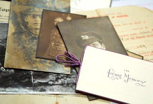 Ask relatives and go through baby books and other memorabilia to find out about your family health history.