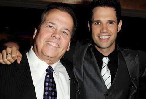 Performers Alan and David Osmond.