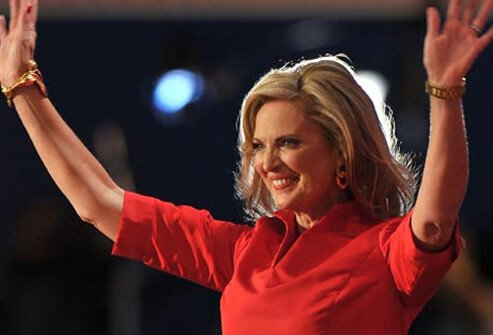 Anne Romney, wife of presidential candidate Mitt Romney.