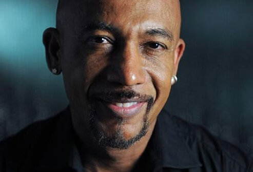 Talk show host Montel Williams.
