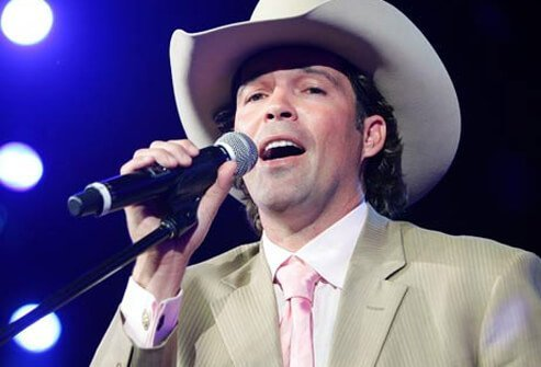 Singer Clay Walker.