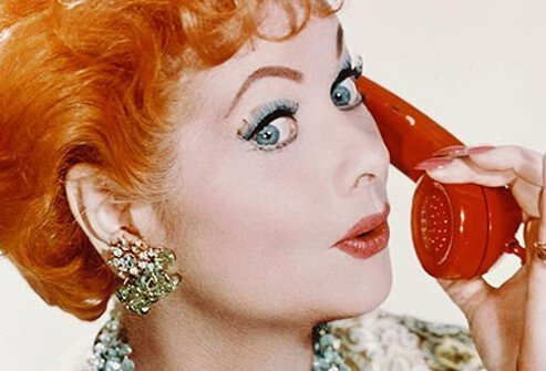 Actress Lucille Ball.