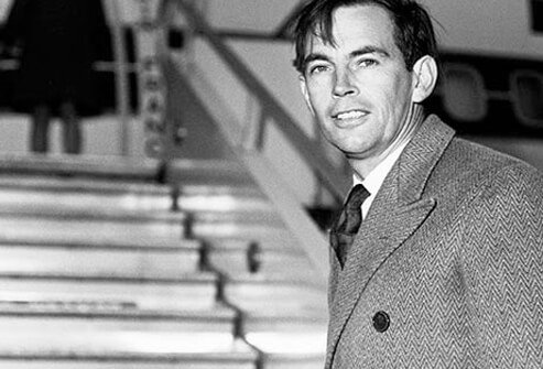 Surgeon Christiaan Barnard