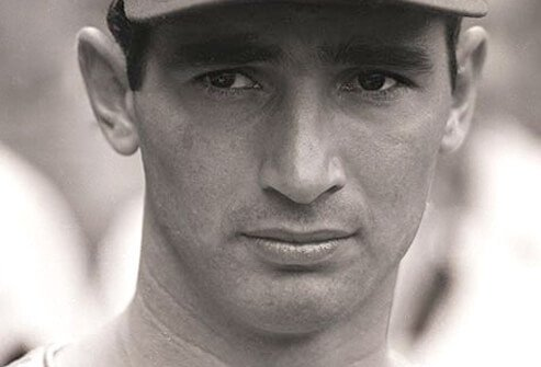 Baseball player Sandy Koufax.