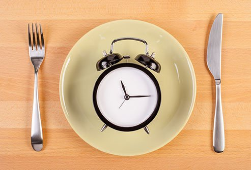 A fast usually lasts from 12 to 24 hours, but some types continue for days at a time.