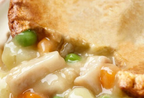 Fresh Chicken Pot Pie