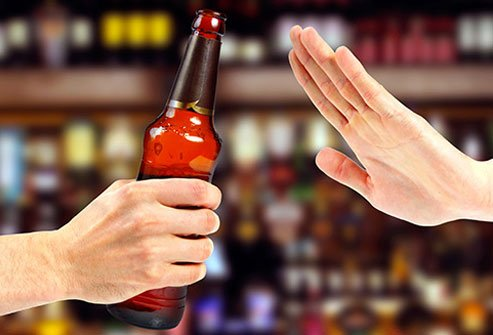 Avoid alcohol to protect your liver.