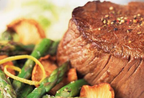 Photo of filet mignon.