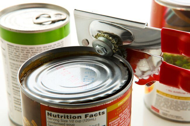 Homemade soup is healthier than canned soup, which may be high in saturated fat and sodium.