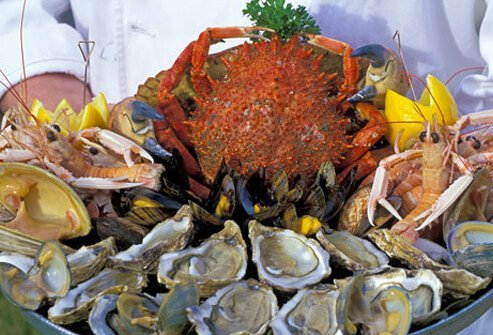 Shellfish help men with reproduction.