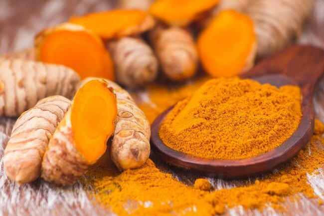 Curcumin in turmeric boosts production of nitric oxide.