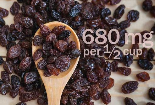 Raisins add a sweet kick to salads, desserts, and vegetables.