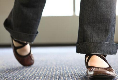 A change in the way you walk may be the first sign of an underlying medical condition.
