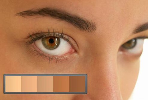 If you want to try a color you've never had naturally, think about your skin tone and eyes.