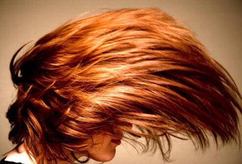 Cedar reds are usually warm and luscious colors on natural brunettes.