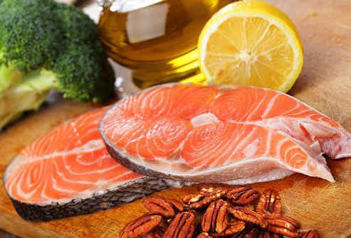 Eat more foods rich in fatty acids which may help lower inflammation.