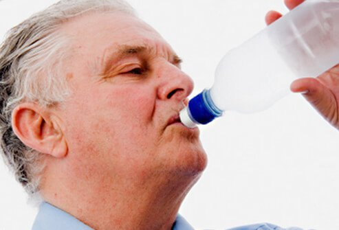Prevention of gout includes maintaining adequate fluid intake and reducing alcohol consumption.