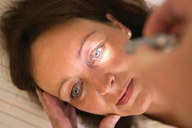 Physical exam, biopsy and lab tests may be used to diagnose eye cancer.