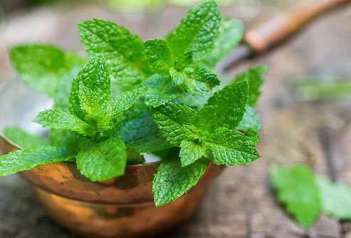 Mint may help tamp down bloating, gas, and other problems after you eat.
