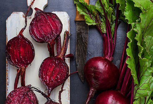Beets are rich in antioxidants called betalains.