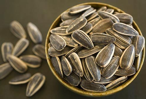 Little pumpkin seeds, sunflower seeds, and sesame seeds pack a big punch.