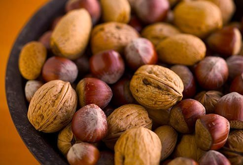 From hazelnuts to pecans, all nuts are good for your heart.