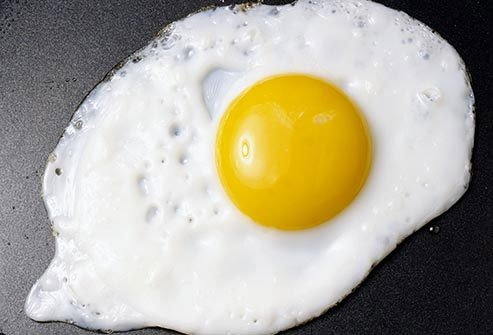 Eggs are a great source of inexpensive protein.