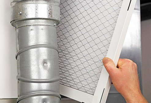Replace air filters once a month to keep allergens out of your home.
